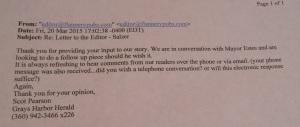 Herald Response